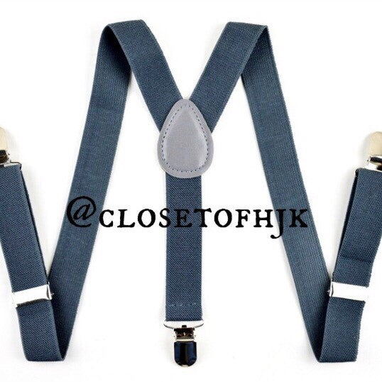 dark grey suspender