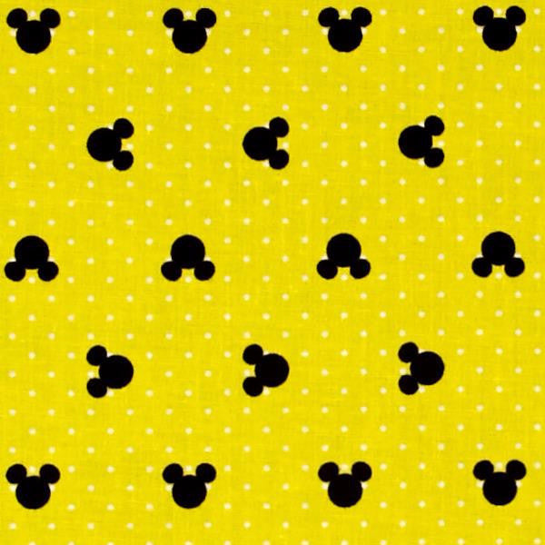 yellow and black mickey mouse