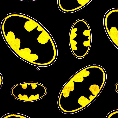 batman black and yellow