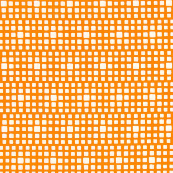 orange and white squared