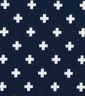 navy blue swiss cross
