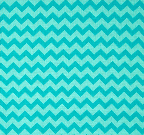 aqua on aqua chevron