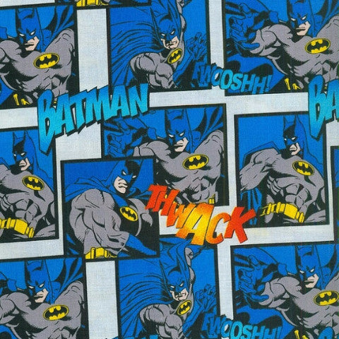 batman blue and grey