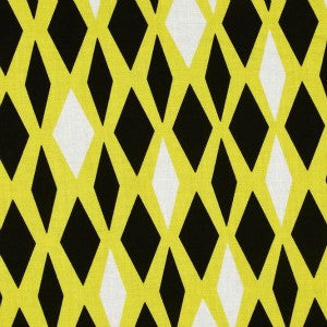 black and yellow criss cross