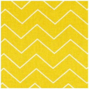 yellow and white thin chevron