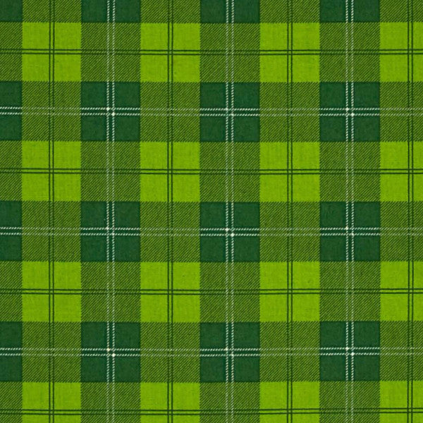green green plaid