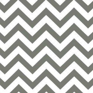 grey and white chevron