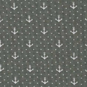 grey and white dot anchor