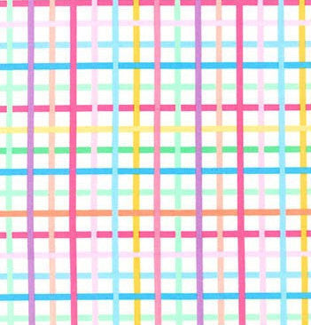 colorful pastel plaid