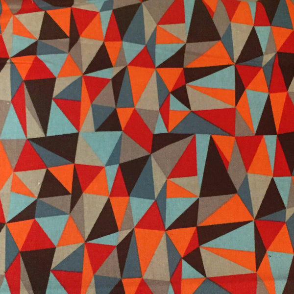 orange and grey geo