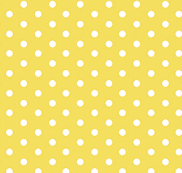 yellow light and white polka dot