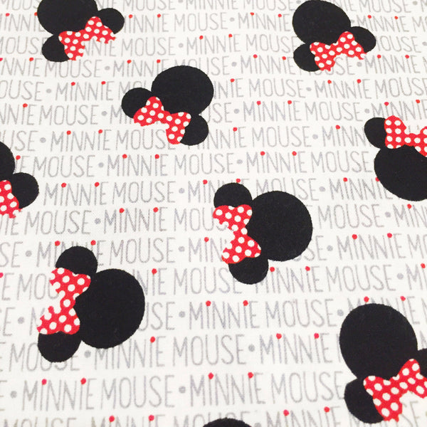 white black red  minnie mouse