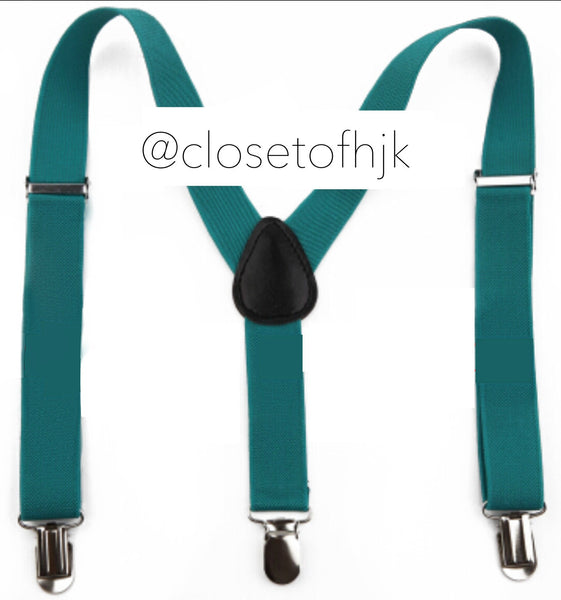 dark teal suspender