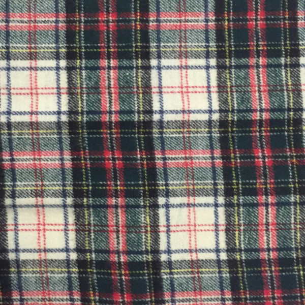 green hunter flannel plaid