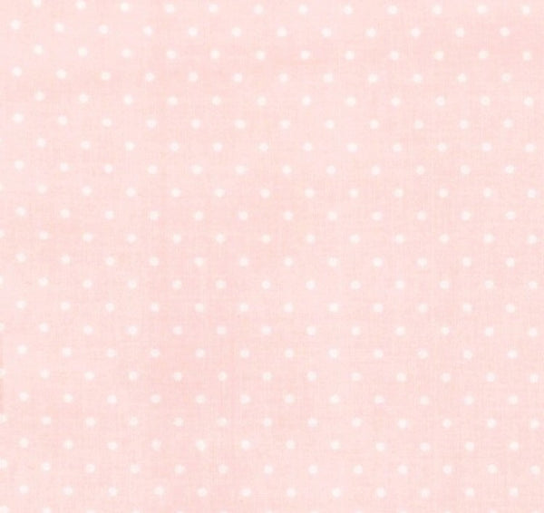 pink blush polka dot