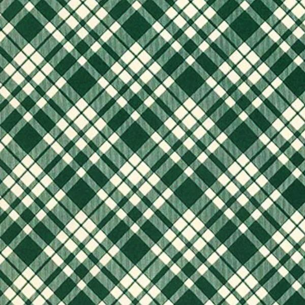 green hunter plaid