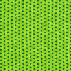 green lime dots
