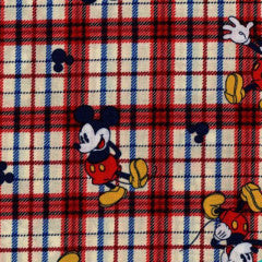 mickey mouse plaid
