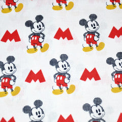 mickey mouse red and yellow