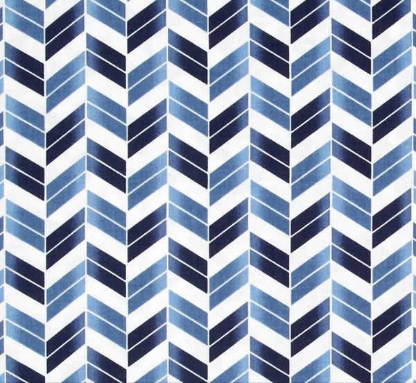 navy blue herringbone