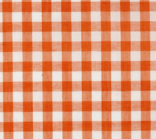 orange plaid