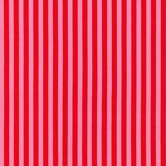 red and pink stripe