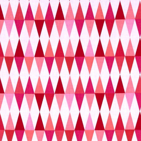 red and pink top triangles