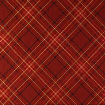 red christmas plaid