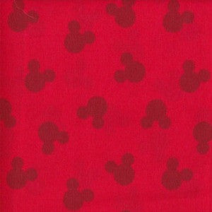 mickey mouse red on red
