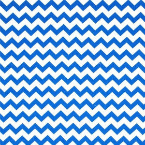 royal blue chevron