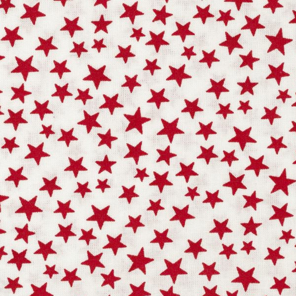 white and red stars