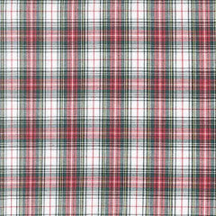 white and red christmas plaid
