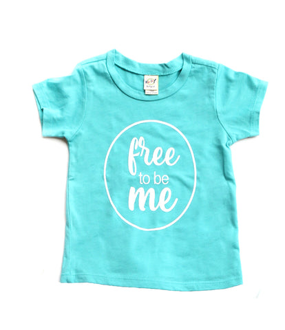 Free to be Me - Teal