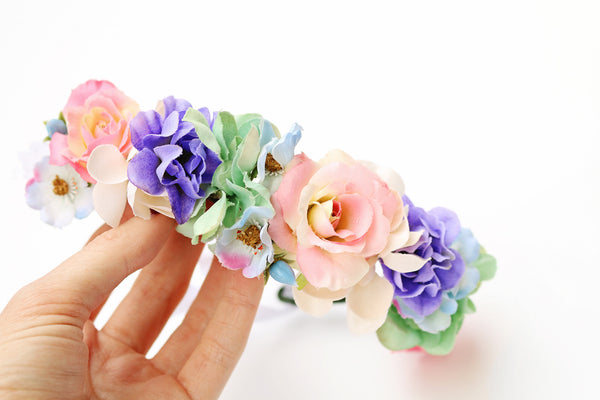 Tiny Unicorn Flower Crown