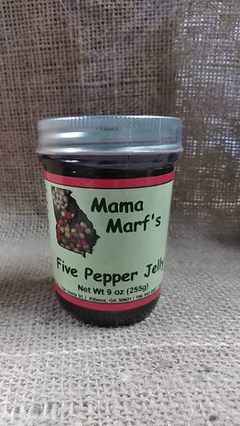 "Mama Marf""s Five Pepper Jelly"