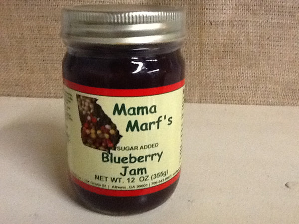 Mama Marf's No Sugar Added Blueberry Jam