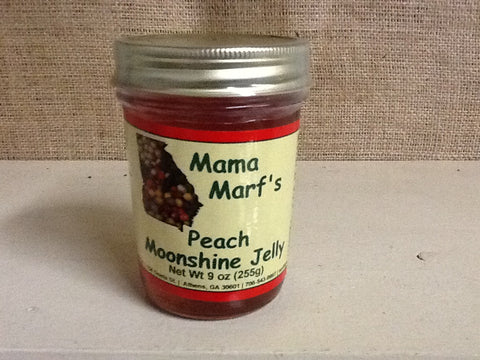 Mama Marf's Peach Moonshine Jelly