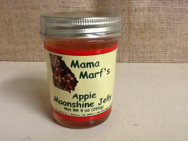 Mama Marf's Apple Moonshine Jelly