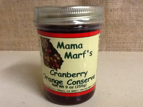 Mama Marf's Cranberry Orange Conserve
