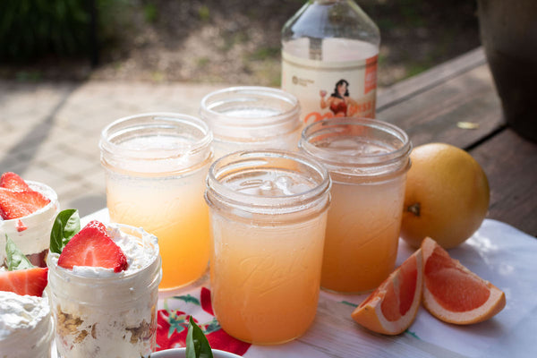A refreshing summer cocktail is the best beverage for a backyard barbecue. Get mixes and more at Pear & Simple in Port Washington, Wisconsin.