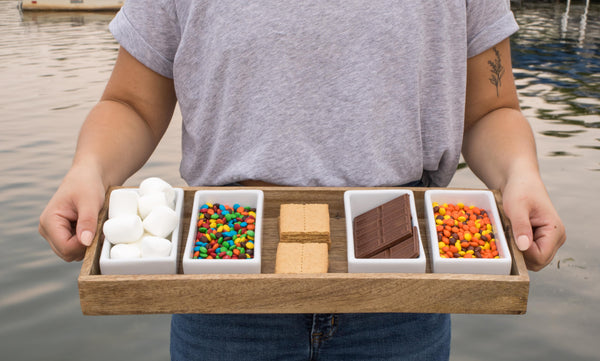 Smore recipes from Pear and Simple in Port Washington, Wisconsin.