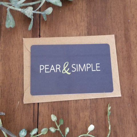 Pear & Simple Gift Card