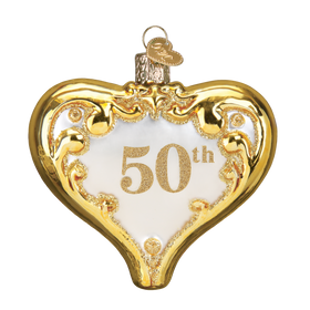 50th Anniversary Heart