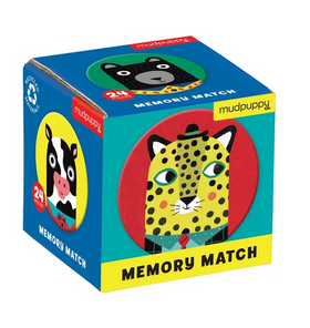 Animal Friends Mini Memory Matching Game