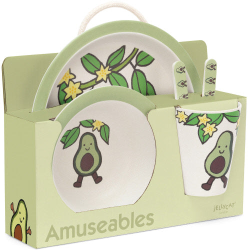 Avocado Bamboo Set