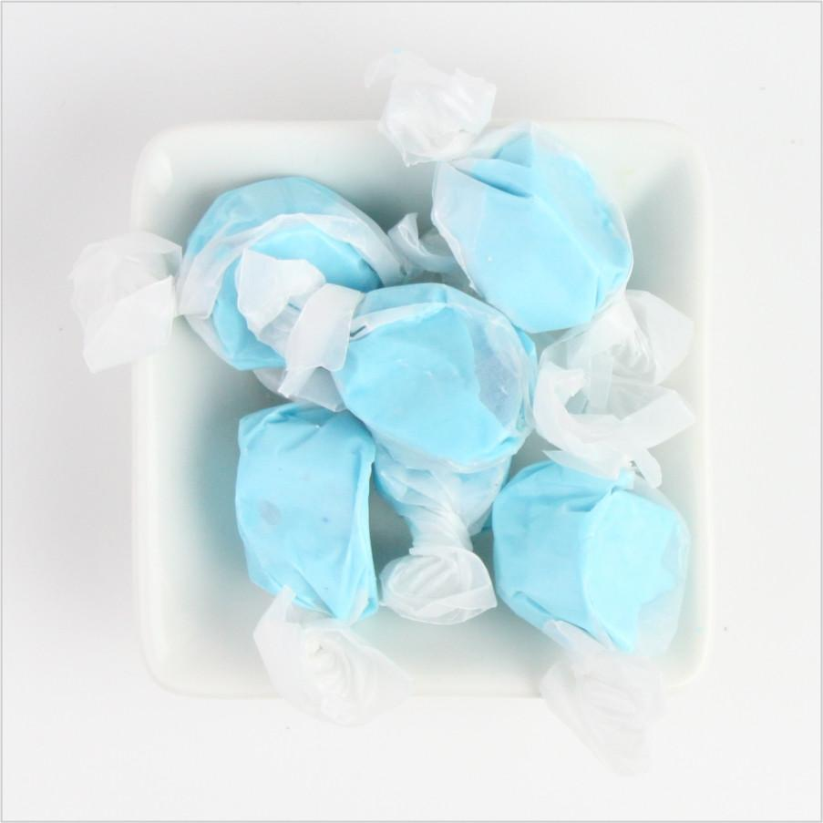 Blue Raspberry Saltwater Taffy - CoCa LeNa Candy Shop Port Washington