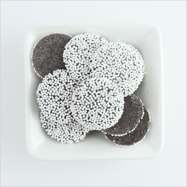 Dark Chocolate Non Pareils - CoCa LeNa Candy Shop Port Washington
