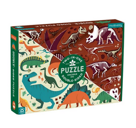Double Sided Dinosaur Dig 100 Piece Puzzle