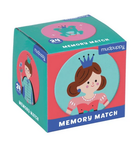 Enchanting Princess Mini Memory Match Game