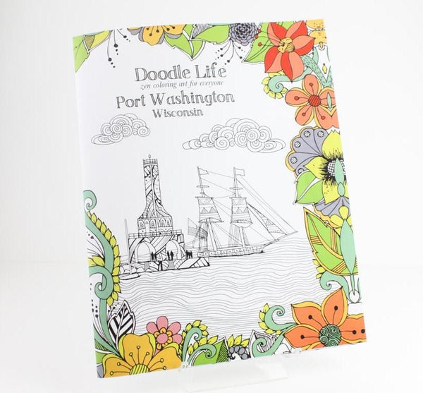 Port Washington Coloring Book - Pear and Simple Port Washington Boutique